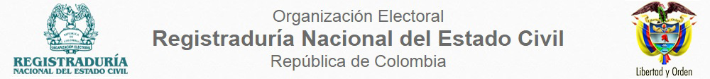 Registraduria Nacional del Estado Civil